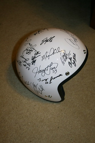 helmet autograph