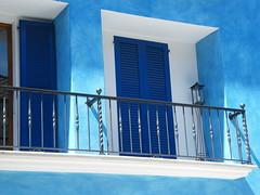 nel blu dipinto di blu ( IN THE BLUE PAINTED BLUE ) (agostino.bartoli) Tags: door blue house detail window ascona casa blu finestra porta svizzera azzurro skyblue dettaglio