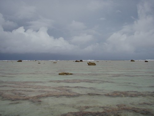 Squall approaches Minerva Reef