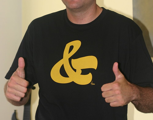 Unboxing: House Industries Ampersand T-Shirt