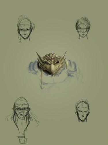 TSNG 3 Character Sketches