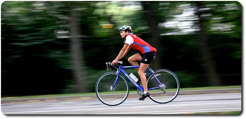 Cyclist ...