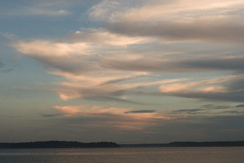 Sunset over Alki