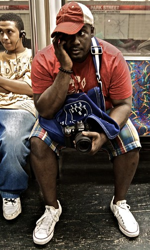 Clarence on the T