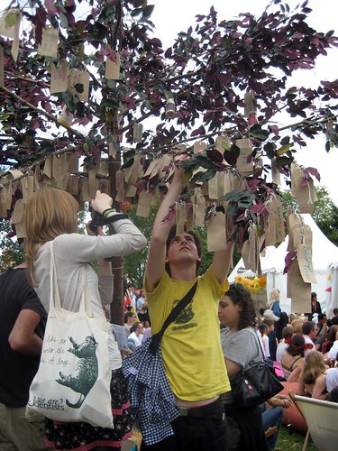 Nabokov Ideas Tree - Innocent Village Fete 2008