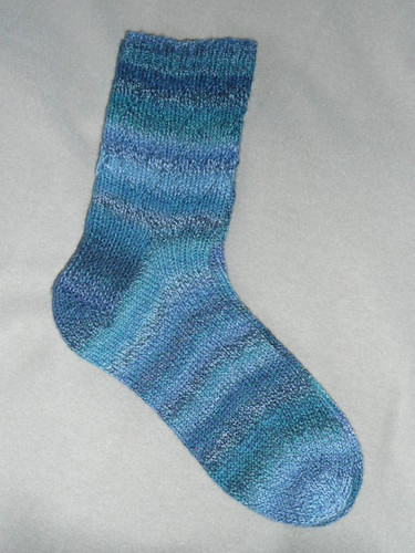 Broken Heart Blues sock 1