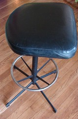 stool before (stinkycretingurl) Tags: thrift thriftstore recycle resurrection redo thriftstoremakeover