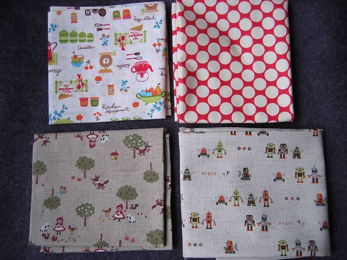 Fat Quarters of joy