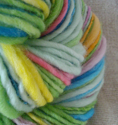 Summer Salad - Handspun Yarn