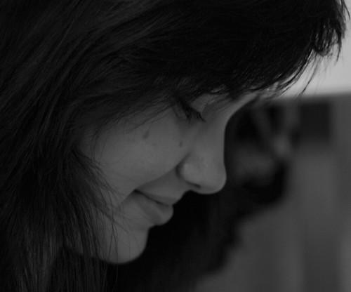 Gentle smile