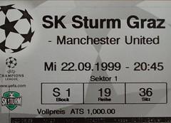 1. strum - manchester united (lembagg) Tags: blue ticket cl championsleague aline karten lembagg sportkarte sportticket strumgraz