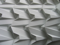 egyptian architecture (polyscene) Tags: shadow sculpture white art geometric paper paperart design 3d origami pattern bass low craft surface architectural relief polly geometrical fold poly bas sculptural tessellation surfaces corrugation repeat robo basrelief verity papersculpture threedimensional tessallation polypropylene lowrelief bassrelief paperfold developable polyscene pollyverity developablesurface 3dpattern 3dsurface 3dtilepattern 3dfoldedpattern 3dlowreliefpattern foldedpattern foldedtessellation sculpturalsurfaces