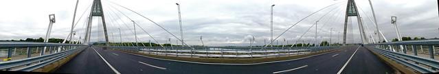 Megyeri-híd - panorama