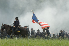 The Feds (FRASIERESS) Tags: civilwar soldiers guns reenactment chickamauga battleofchickamauga