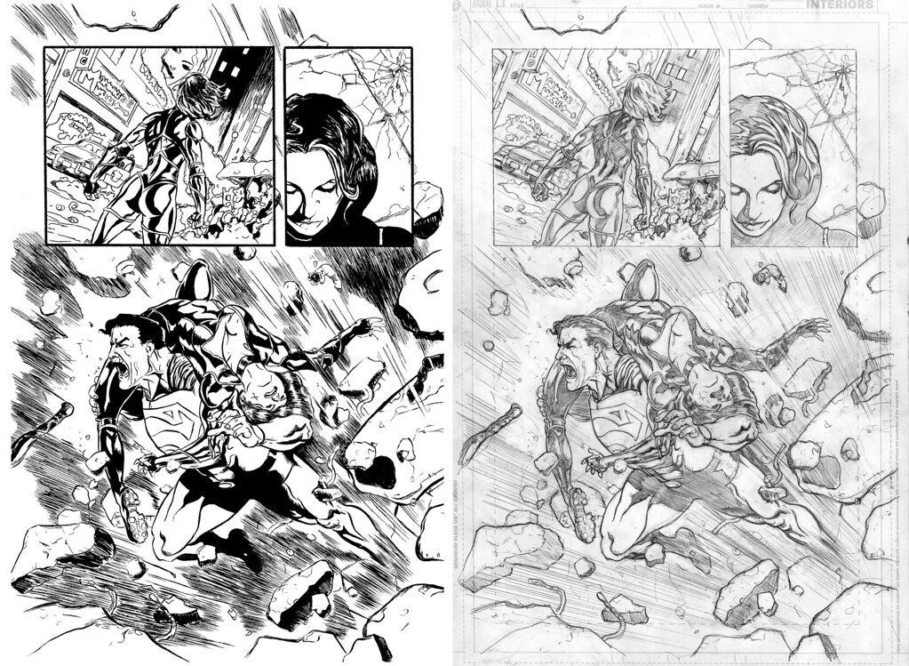 Inks over Shawn Moll pencils page 3