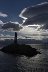 Faro Les Eclaireurs (Meryabad) Tags: sea sky lighthouse mountains argentina argentine clouds landscape faro ushuaia island mar paisaje cielo nubes isla montaas leseclaireurs