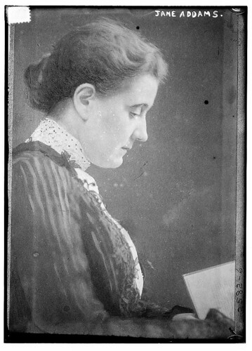 Jane Addams by The Library of Congress from Flickr