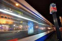 AMSTERDAM IN MOTION (AL-SHAIJY) Tags: motion reflection netherlands amsterdam night photographer shot nightshot sigma catch kuwait  effect 1020 hamad kuwaiti q8   hollend       alshaijy alshaiji alshayji