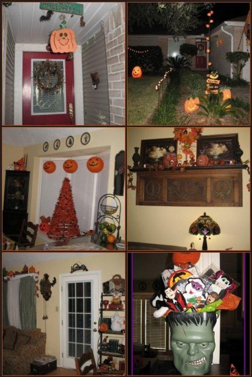 Floras Halloween House!