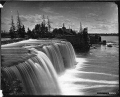 Rideau Falls, Ottawa, ON, 1869 (Muse McCord Museum) Tags: trees sky ontario canada water clouds ottawa waterfalls rushing rideaufalls mccordmuseum musemccord commons:event=commonground2009