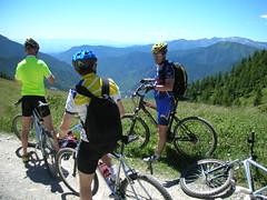 DSCN0231 (Hannibal Cycle tours / Belvedere B&B) Tags: italy holiday cycling italia mountainbike crosscountry fenestrelle valchisonemountainbike colledellefinestra alpinebiking