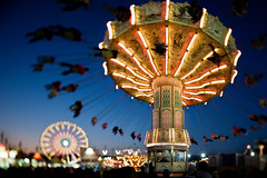 virginia state fair (Ansel Olson) Tags: people night fun virginia amusement flying nikon ride state joy carousel fair richmond va spinning ferriswheel nikkor rotating manualfocus tilting tiltshift pce waveswinger wellenflieger virginiastatefair flinging 24mmf35 richmondcity d700 telescopically