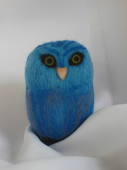 Indigo Sky  Owl (Handwork Naturals) Tags: sculpture art wool nature felted dolls handmade unique oneofakind waldorf felt owl eden needlefelting fiberart fiber motherearth owls needlefelt naturetable needlefelted nfest fibersculpture edenhart