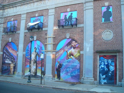 The Royal Theatre Mural