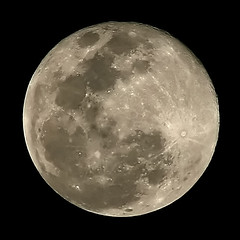 Selene. (Pablo Leautaud.) Tags: moon méxico mexico grande big luna perigee perigeo pleautaud sacredmoon