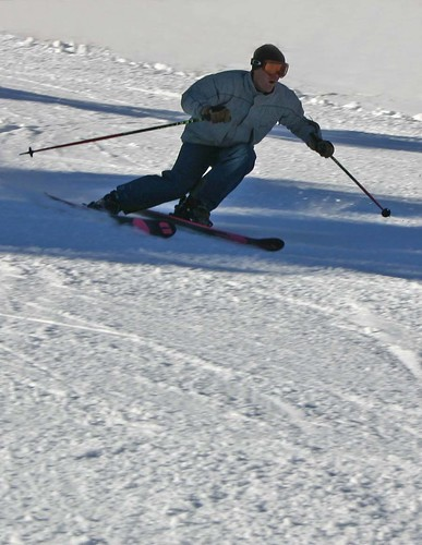 This skier made about 100 runs on opening day!