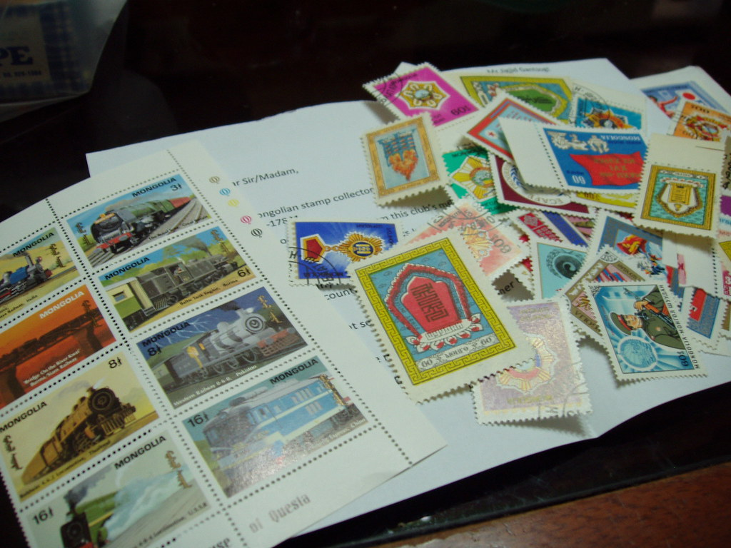 Mongolian Mint Stamps