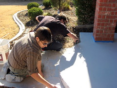 Dan and Paul (Impressive Restorations) Tags: oklahoma oklahomacity concreteart concretedesign impressiverestorations concreteresurfacing permacrete danielware jorgeware stephanieware paulaamold wwwimpressiverestorationscom 4058245910