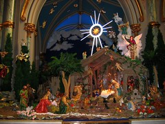 Merry Christmas from Savannah (UGArdener) Tags: christmas star cathedral angels manger savannah bethlehem merrychristmas threekings wisemen nativityscene cathedralofstjohnthebaptist