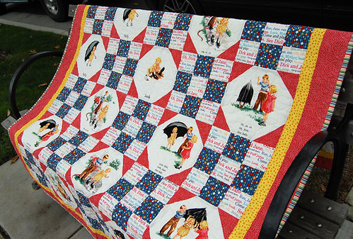 The warmest gift - Quilt by Kim
