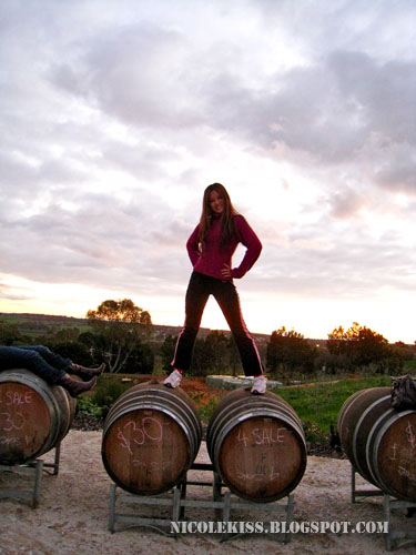 nicole in barossa valley adelaide