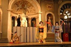 Spettacolo di danza della geiko Fumimari e la maiko Toshihana 2