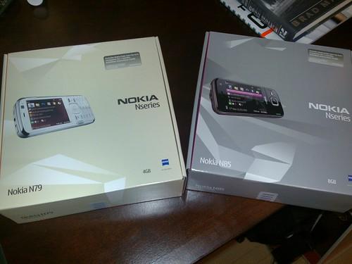 23/12/2008 - Nokia N79 and N85