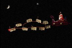 Seen Last Night Over Haddonfield!! (martytdx) Tags: christmas xmas gummi merrychristmas gummibear artlike gummiart christmasgummi santagummi rudulphtherednosedgummi gummideer itcameuponagummiclear