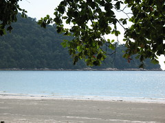 Walk on the Beach of Pangkor Island Beach Resort, Perak by Loeffle