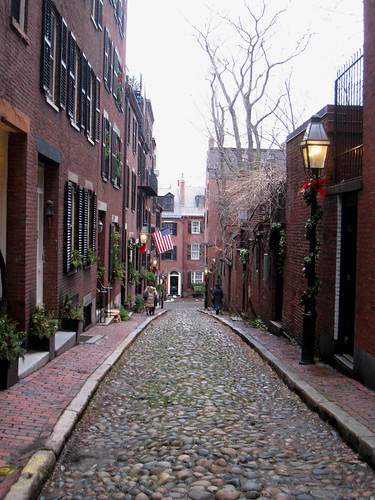 Holiday Street in Beacon Hill