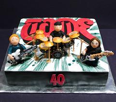 Tome's RUSH Birthday Cake (Dreemkggs) Tags: cake drum guitar band rush