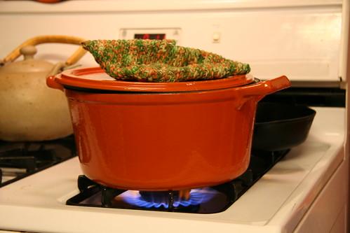 stew, step one... boil it