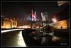 Museo Guggenheim e ponte Salve - Bilbao II (_madmarx_) Tags: colour night reflections puente noche arquitectura agua mama bilbao guggenheim museo titanium frankgehry euskadi louisebourgeois visualart salve museoa platinumphoto flickraward internationalflickrawards madmarx