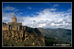 Tatev Monastery Profile (vahephoto) Tags: church christian monastery armenia tatev