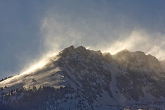 high wind warning (lucky e) Tags: winter mountain snow rockies colorado wind