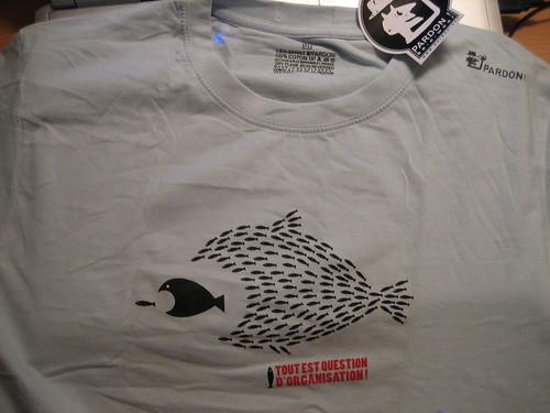 T-Shirt pardon! Tout Est Question D'Organisation