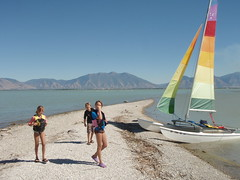 Hobie Cat at Utah Lake