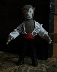 Werewolf plush
