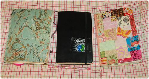 Diary pile 2008
