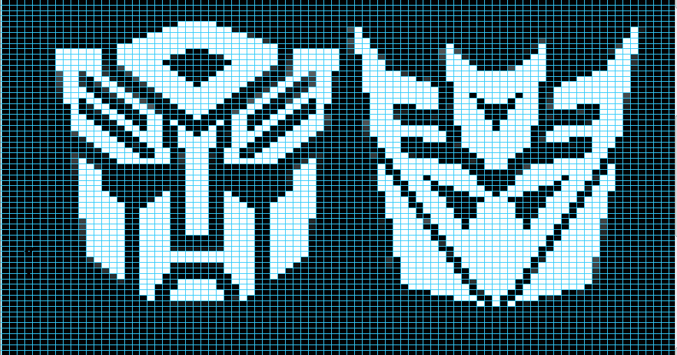 Ravelry Autobot Decepticon Matched Charts Pattern By Elizabeth Thomas